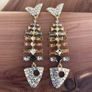 🐟Baublebar Crystal Fillet Drop Earrings!